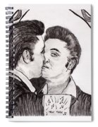 Elvis Who Loves Ya Baby? Spiral Notebook