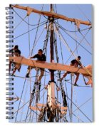 Who Was That Mast Man Spiral Notebook