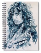 Whole Lotta Love Jimmy Page Spiral Notebook
