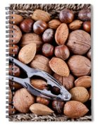 Whole Nuts In A Basket Spiral Notebook