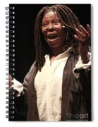 Whoopi Goldberg Spiral Notebook