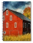Why Do They Paint Barns Red? Spiral Notebook