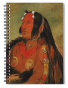 Wi-jun-jon. Pigeons Egg Head. A Distinguished Young Warrior Spiral Notebook