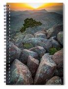 Wichita Mountains Spiral Notebook