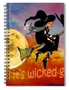 Wicked Good Spiral Notebook
