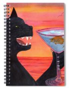 Wicked Kittys Cattini Spiral Notebook