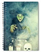 Wicked Witch  Spiral Notebook