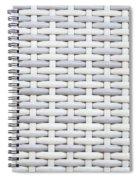 Wicker Spiral Notebook