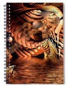 Wickerlight Spiral Notebook