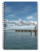 Wide View Of Kingscote Bay Spiral Notebook