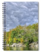 Widewater Clouds Spiral Notebook