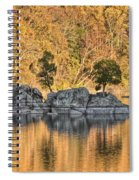 Widewater Fall Color Spiral Notebook