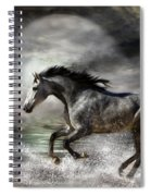 Wild As The Sea Spiral Notebook