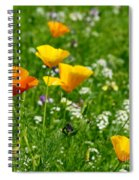 Poppies 3 - Wild At Heart Spiral Notebook