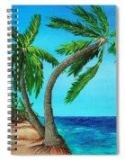 Wild Beach Spiral Notebook