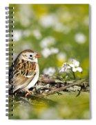Wild Birds - Field Sparrow Spiral Notebook