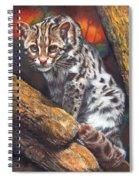 Wild Cat Spiral Notebook