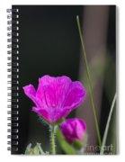 Wild Flower Bloody Cranesbill Spiral Notebook