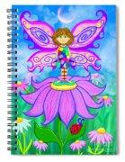 Wild Flower Fairy  Spiral Notebook