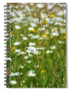 Wild Flower Meadow Spiral Notebook
