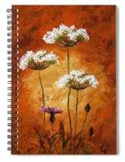 Wild Flowers 041 Spiral Notebook