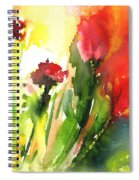 Wild Flowers 09 Spiral Notebook