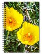 Wild Flowers 2 Spiral Notebook