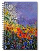 Wild Flowers 4110 Spiral Notebook