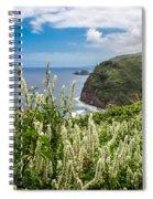 Wild Flowers At Pololu Spiral Notebook
