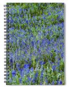 Wild Flowers Blanket Spiral Notebook