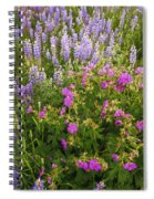 Wild Flowers Display Spiral Notebook