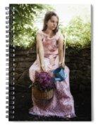 Wild Flowers Spiral Notebook