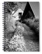 Wild Garlic Track Spiral Notebook