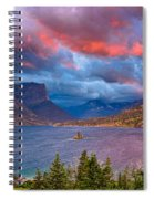 Wild Goose Island Overlook September Sunrise Spiral Notebook