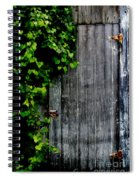 Wild Grape Vine Door Spiral Notebook