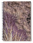 Wild Grasses Blowing In The Breeze  Spiral Notebook