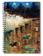 Wild Horse Canyon Spiral Notebook