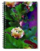 Wild Jasmine Spiral Notebook