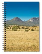 Wild Landscape Of Lika Region Croatia Spiral Notebook