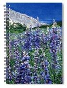 Wild Lupine Spiral Notebook