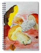 Wild Mushrooms Spiral Notebook