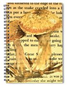 Wild Mushrooms Warm And Subtle Spiral Notebook