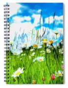 Wild Ones - Daisy Meadow Spiral Notebook
