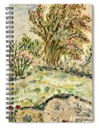 Wild Rhododendrons Near The River Spiral Notebook