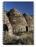 Wild Rose Charcoal Kilns Death Valley Img 4290 Spiral Notebook