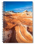 Wild Sandstone Landscape Spiral Notebook
