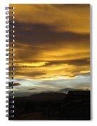 Wild Skies  Spiral Notebook