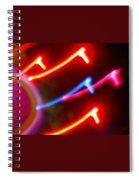 Wild Stallions Of Vega Spiral Notebook