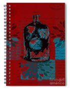 Wild Still Life - 0101a - Red Spiral Notebook