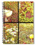 Wild Things Growing Near The Beach Spiral Notebook